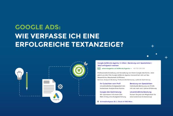 Google Ads: Wie verfasse ich eine erfolgreiche Textanzeige?