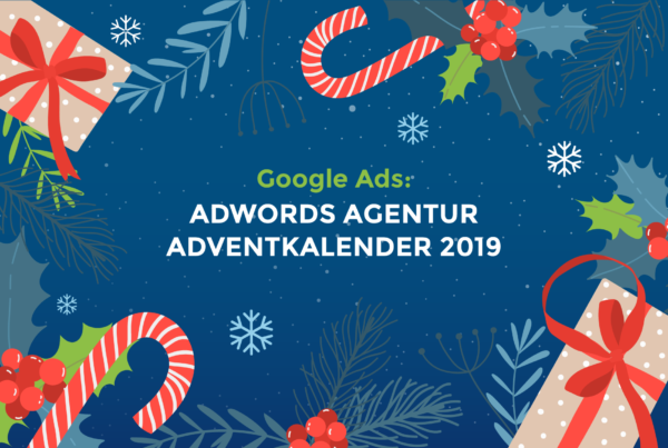 Adwords Agentur Adventkalender 2019